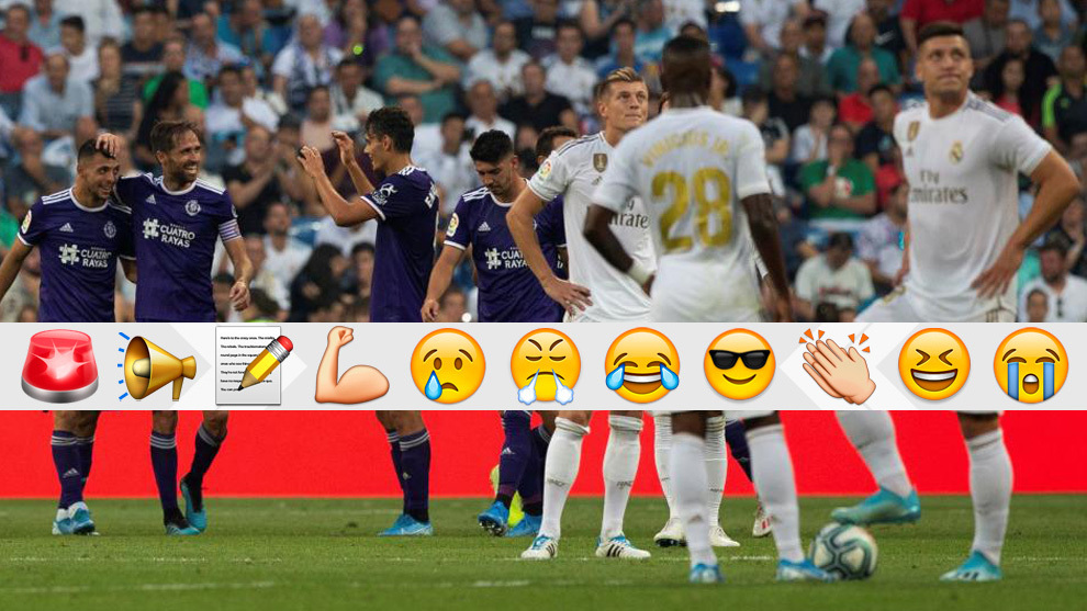 A late Valladolid goal saw the points shared at the Bernabeu.