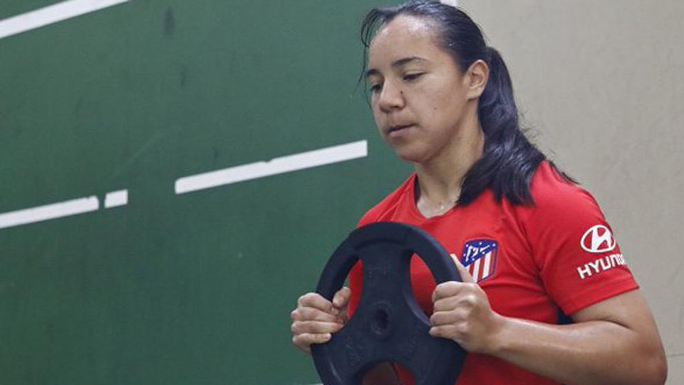 La mexicana no viajó a Valencia pata el triangular