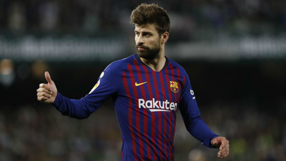 Pique has won 29 trophies with Barcelona