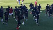 Entrenamiento del Salamanca CF
