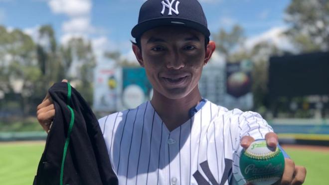 Ernesto Borges se une a los Yankees.