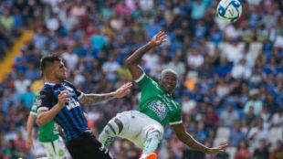 Andrés Mosquera había sido expulsado en la jugada.