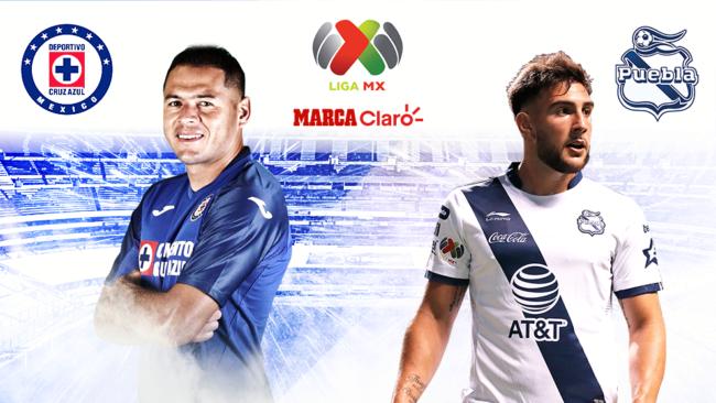 Cruz Azul vs Puebla, en vivo minuto a minuto.