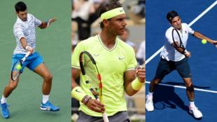 Djokovic, Nadal y Federer se han repartido 50 de los últimos 58 gran...