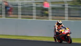 Jorge Lorenzo, en Silverstone.