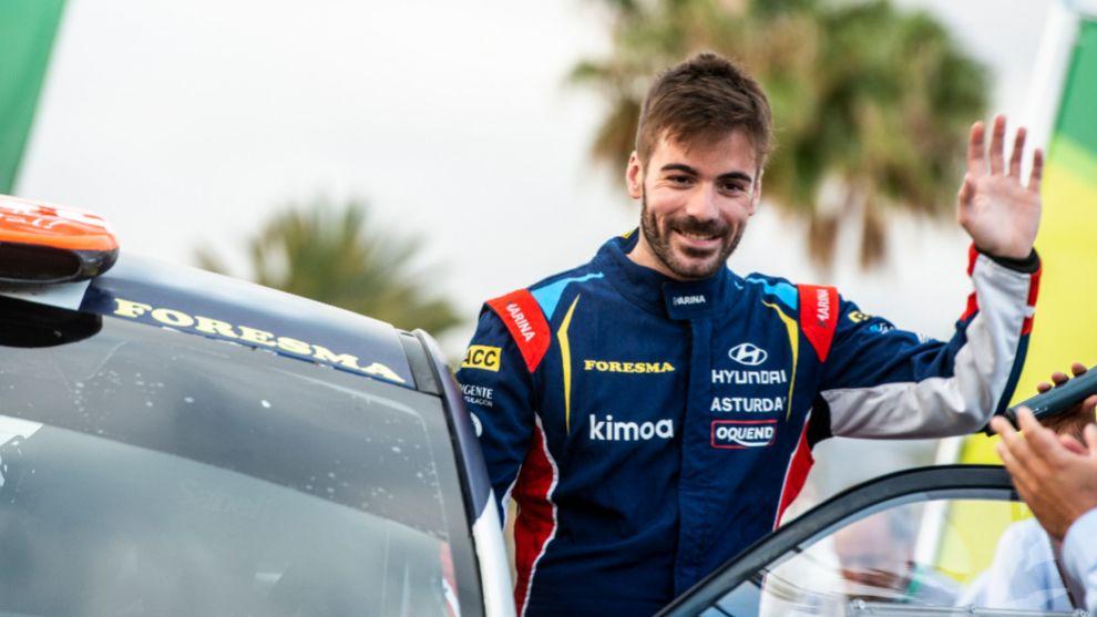 El piloto asturiano retoma su carrera.