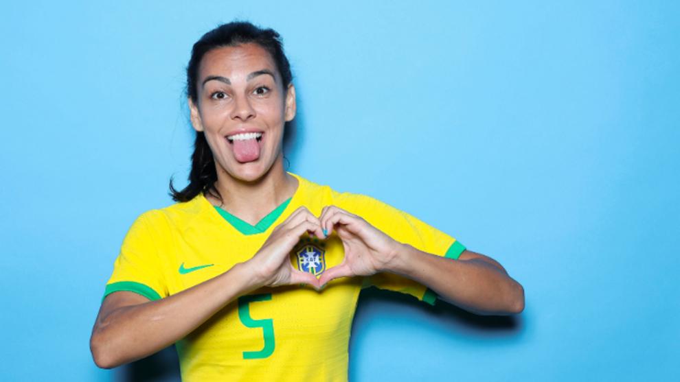 Thaisa Moreno, en la previa del Mundial de Francia 2019.