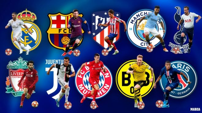 The 10 Favourites For The 2019 20 Champions League Marca In English
