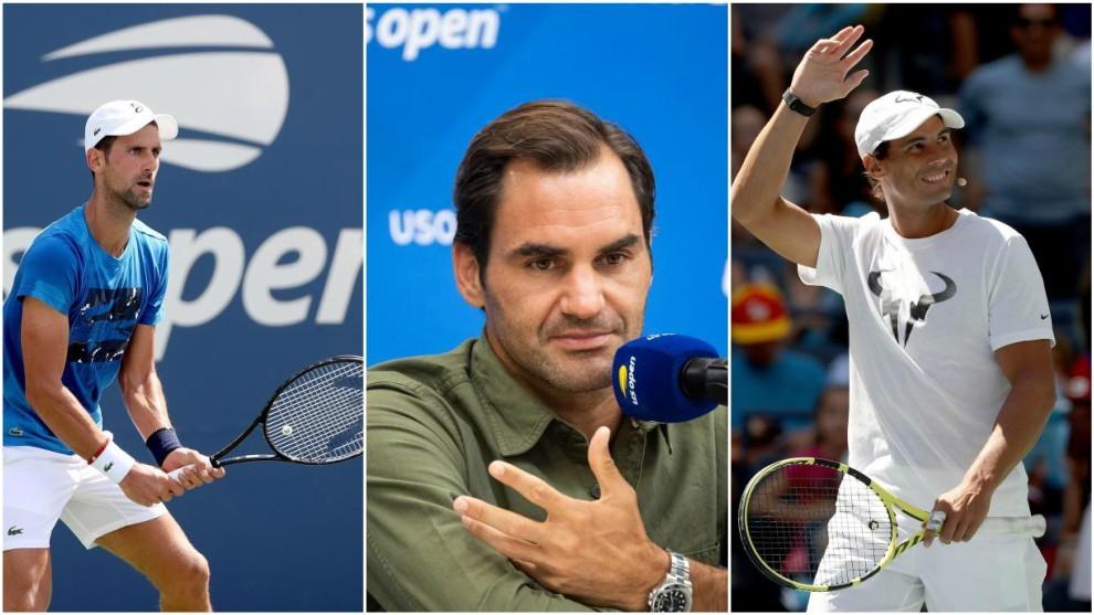 Djokovic, Federer y Nadal, en Nueva York