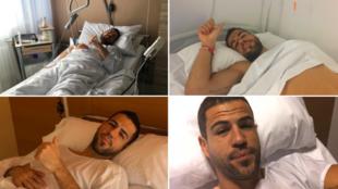 Fotos de cuatro de las operaciones de Álvaro Domínguez