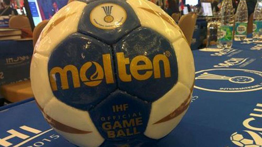 El futuro balón 'antipega' de la marca Molten /
