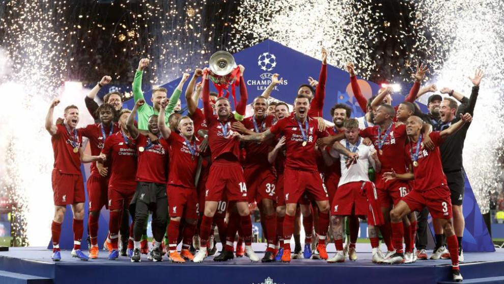 Sorteo Champions: Liverpool, campeón de la Champions 2018-19,...
