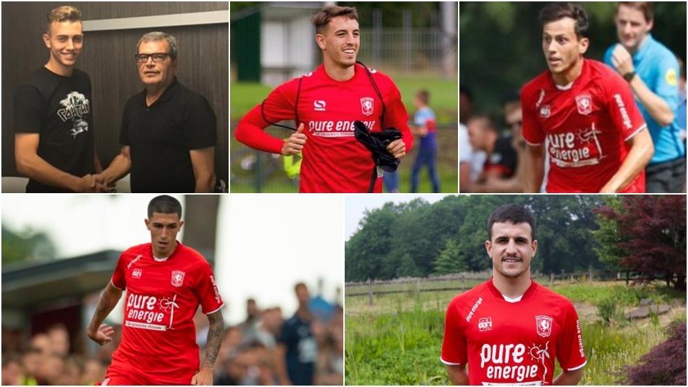 Los cinco futbolistas españoles del Twente