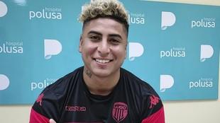 Marcelo Djaló tras pasar las pruebas médicas