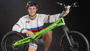 Eloi Palau, campeón de bike trail.