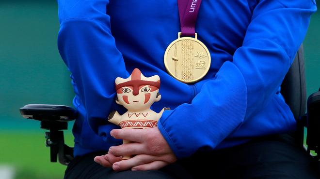 El conteo de medallas en los Juegos Parapanamericanos.