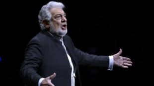 El tenor español Plácido Domingo, en foto de archivo