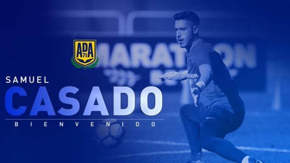 Samu Casado nuevo jugador del Alcorcón
