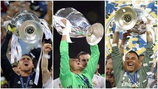 Keylor Navas el portero de las tres Champions League