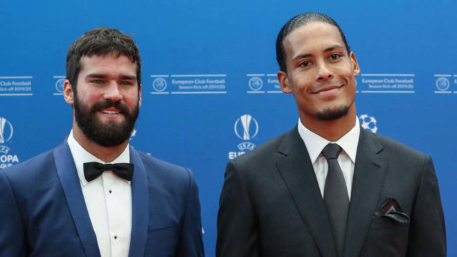 Alisson and Van Dijk