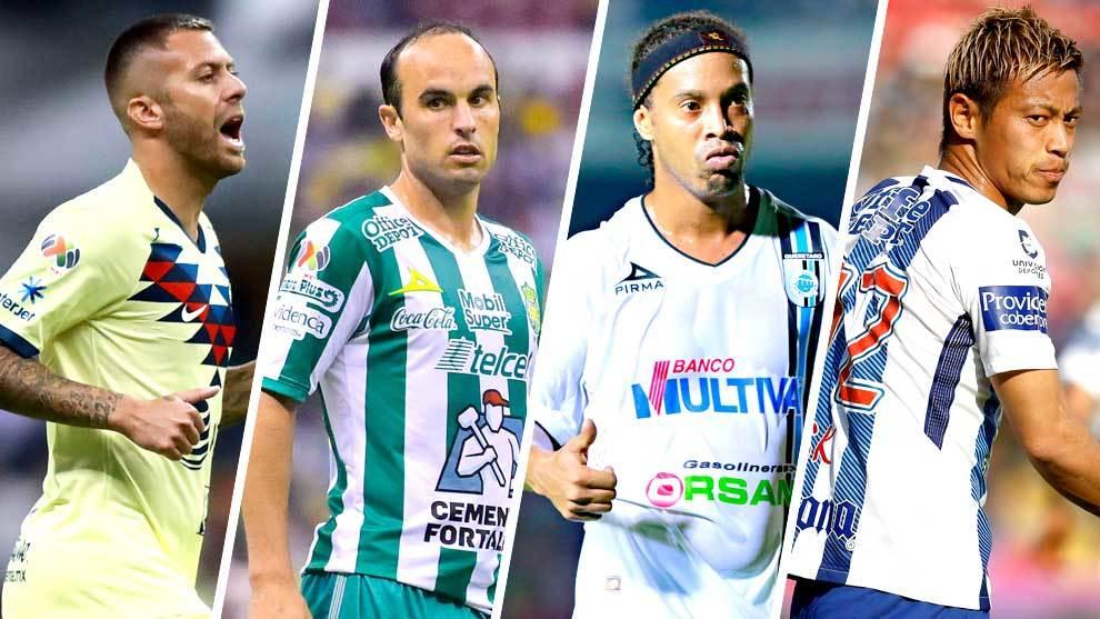 Nada honrosa la lista de jugadores estrella, estrellados en México