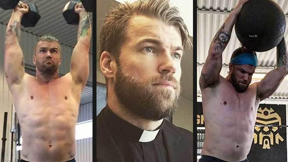 El sacerdote sueco Oskar Arngården se ha convertido en una de las...