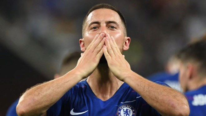 Bildergebnis für Hazard named Europa League Player of the Season
