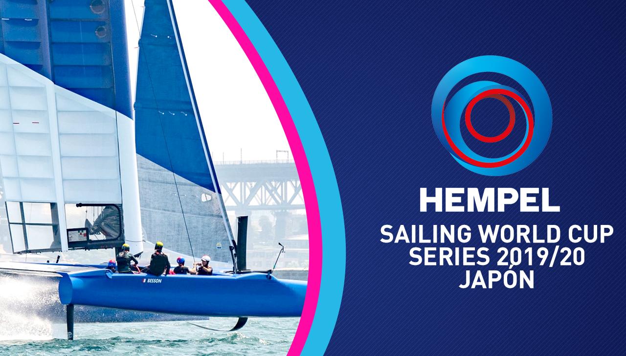Streaming: Hempel Sailing World Cup Series 2019/20 Japón