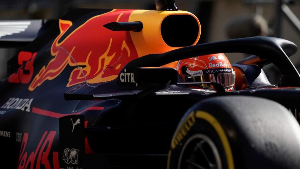 El Red Bull de Max Verstappen.