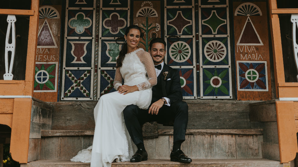 Damián Quintero y Casandra Busto.