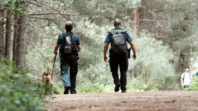 La Policía está realizando batidas con perros en la sierra de Madrid