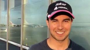 Sergio Pérez, piloto mexicano de SportPesa Racing Point.