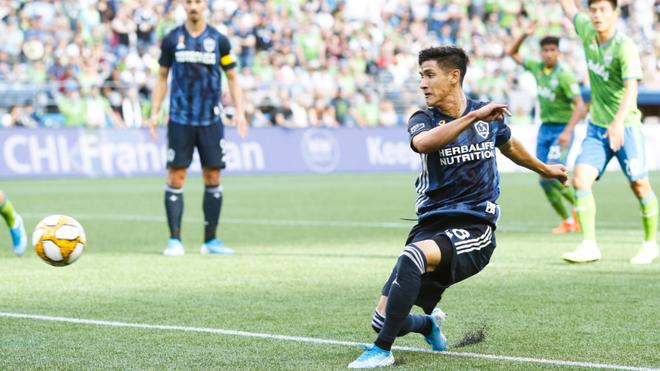 El mexicano había anotado por última vez en la semana 10 de la MLS.