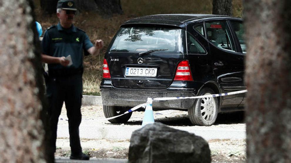 La Policía encuentra el coche de Blanca Fernandez-Ochoa en Cercedilla