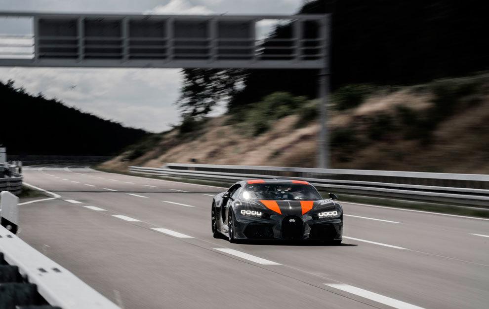 Bugatti Chiron récord de velocidad