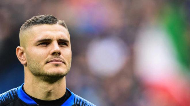 Icardi, con el Inter.