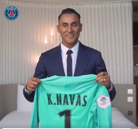 lowest price 5ebae 902b1 Real Madrid: Official: PSG sign Keylor Navas | MARCA in English