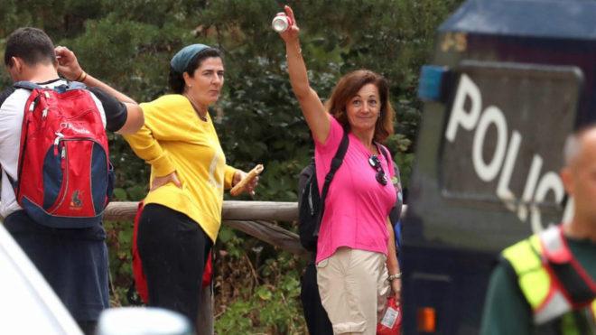 Dolores Fernández Ochoa hoy en Las Dehesas de Cercedilla.