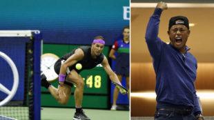 El mundo del tenis se rinde ante Nadal: su puntazo por fuera de la red al alcance de muy pocos