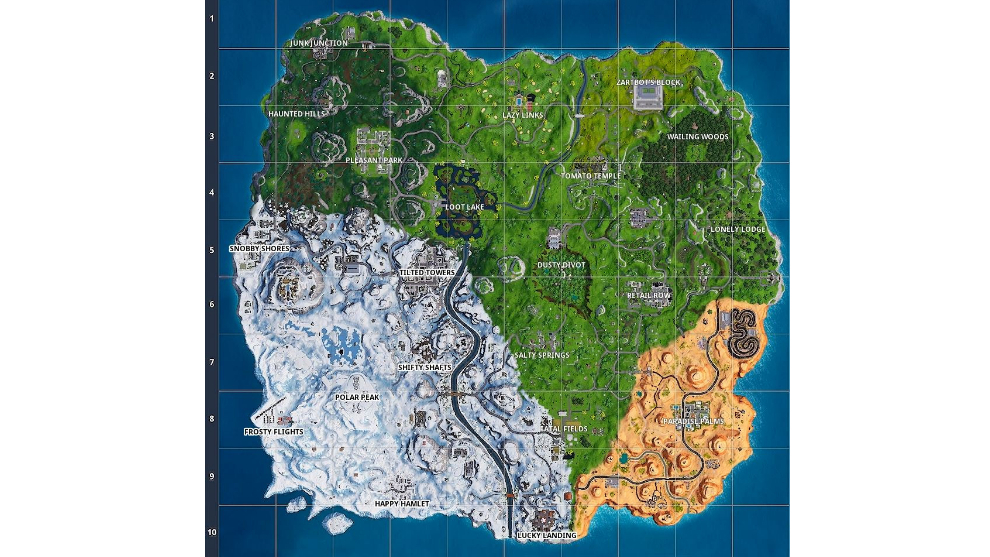 Fortnite Temporada 7 Mapa.Fortnite Asi Ha Cambiado El Mapa De Fortnite A Lo Largo De