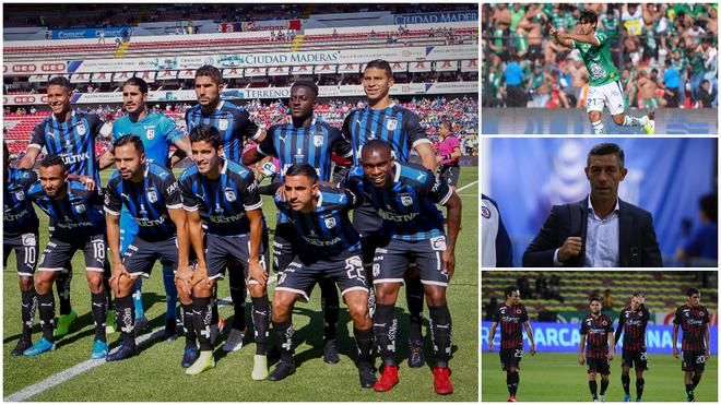 Querétaro es líder del Apertura 2019.