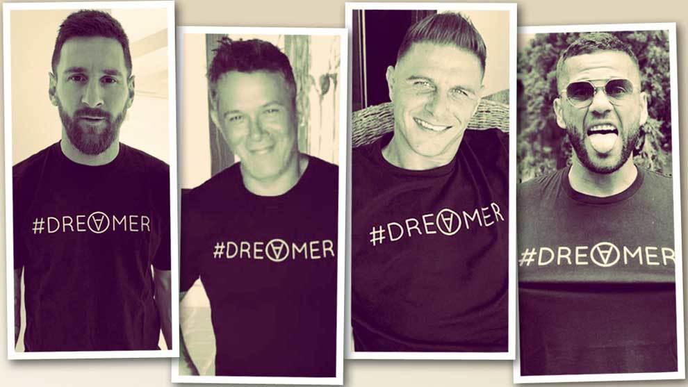 El cantante Alejandro Sanz presenta Dreamer, su proyector solidario...