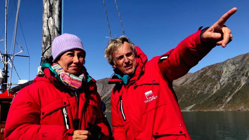 Ana Patricia Botín, invitada en 'Planeta Calleja', navega hasta Groenlandia