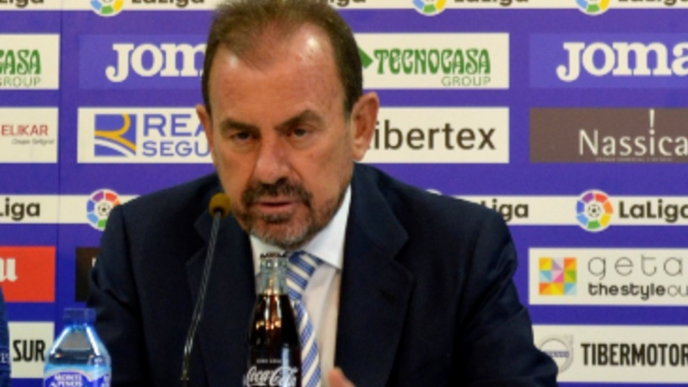 Ángel Torres en rueda de prensa