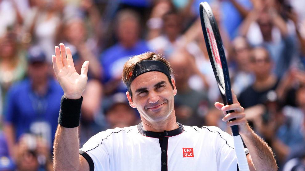 Federer en el US Open 2019