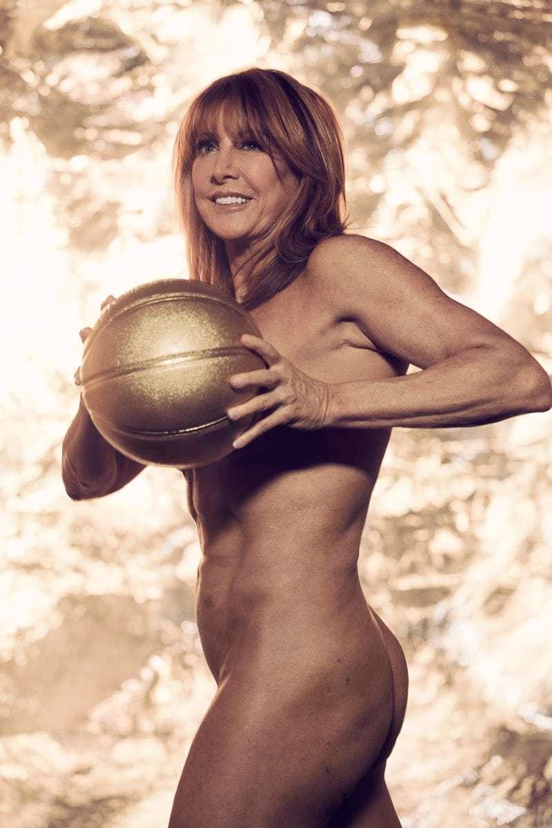 El desnudo integral de Nancy Lieberman con 61 años para el ESPN Body...