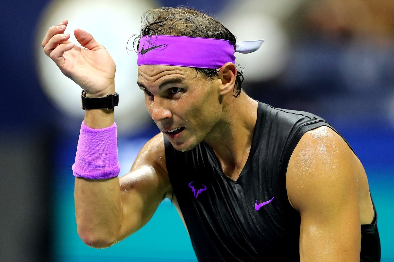Vizuális zoom Rafa Nadal győzelméhez, Diego Schwartzman ellen az US Open tenisz negyeddöntőjében