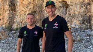Nani Roma y Dani Oliveras disputarán juntos el Dakar 2020.