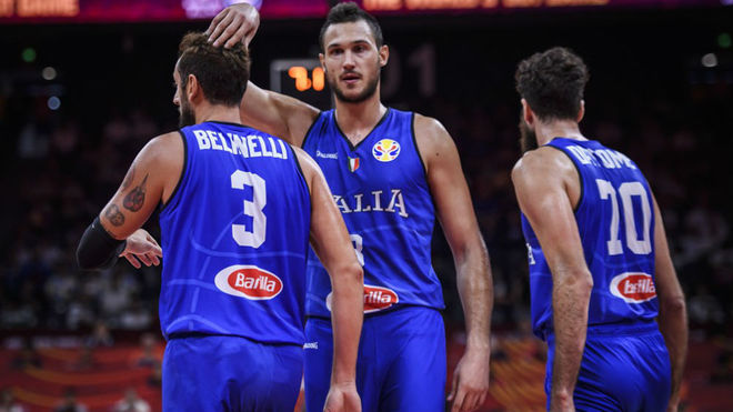 Gallinari, Belinelli y Datome son tres de los líderes de Italia