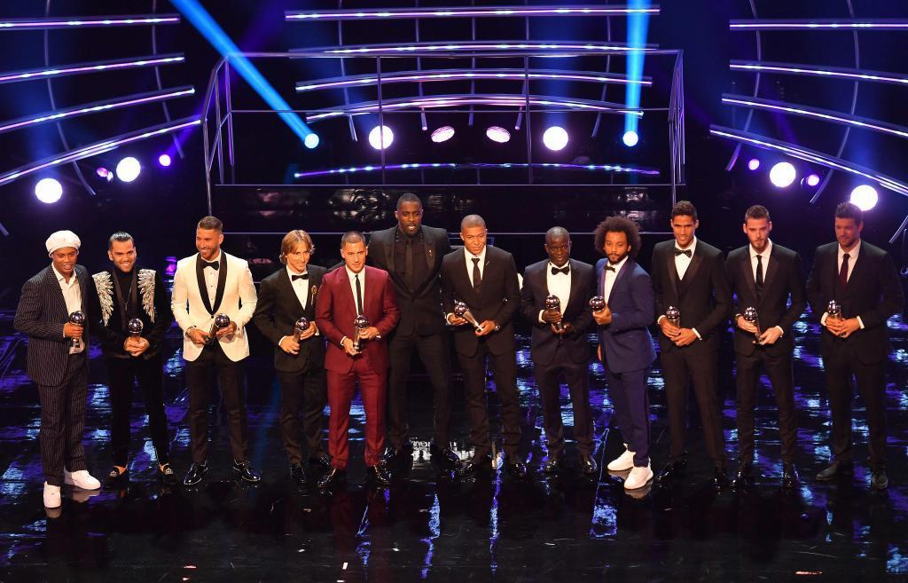 Los once jugadores que formaron el equipo ideal de FIFpro 2018